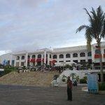 The mall, beachside