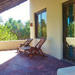 First terrace