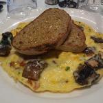 Yummy omlette...