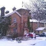 Winter at Nent Hall