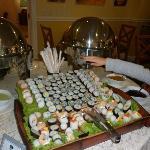 Sushi en el Buffet
