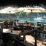 Great cliffside atmosphere is this fantastic quaint restaurant.