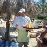 Drinkks on the beach