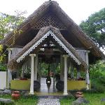 The restaurant of Darmada (Sidemen)(Bali)