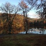autumn over the loch - view from lodge 17