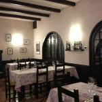 la bellissima sala del ristorante