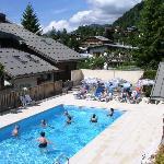 piscine chauffée l'été