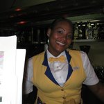 A free Smile, one of the bartenders