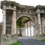 Entrance to the Stables (now self-catering accommodations)