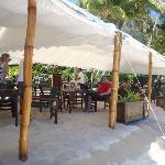 inside 'restaurant'