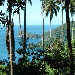 Amazing view from Morne Coubaril cocoa Plantation Tour