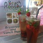 Deliciously refreshing mocktail...Berry Nice!