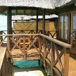 the veranda - perfect !