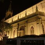 view from our table at Carnivore, Chijmes