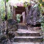Malipano Villa Entrance