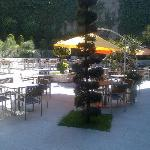 Outdoor Patio at BICE Restaurant