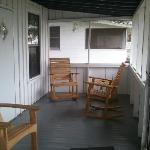 The front porch, view one.