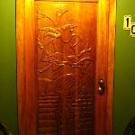 Room door.