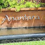 Anantara, just outside the resort