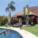 Jardin & piscine villa Carpe Diem (pour 8 personnes)