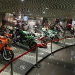 Great displays at the Grand Prix Museum - bikes