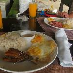 Breakfast Bangsilog and Cornsilog