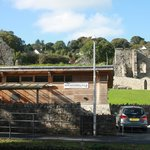 Eco Coach House and St Dogmaels Abbey, West Wales