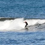 Wonderful surfing beach near to Dunbar.