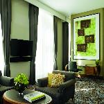 Our Executive Suite at The Ritz-Carlton, Vienna.