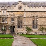 Front quad at Jesus College, Oxford