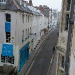 View from bedroom (staircase XIX room 5) - Ship Street