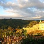 Vistas al pueblo Madremanya