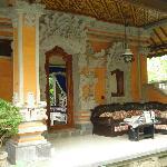 Bali balcony