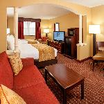 Our new remodeled rooms - Queen/Queen room with pullout sofa