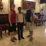 Us with Mr. Puy Lekh
