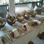 Breakfast spread - Bread Counter