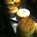 What we are famous for.......... Pies