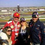 Gran Premio de los Estados Unidos desde la tribuna 15