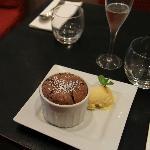 le soufflé de chocolat des 2 oliviers