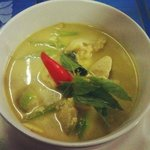 green curry & steamed rice just 79 thb!!