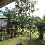 bungalow immersi nel giardino tropicale