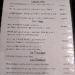 menu 3 plats 25,avec fromage 27