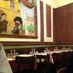 Chez Mounier : la salle de restaurant