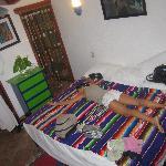 Un letto enorme!