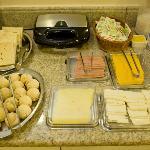 Café da manhã- uma tortura para quem está de dieta!!!!
