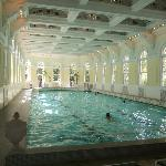 Indoor pool, just off of Spa area