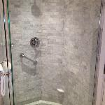Nice shower with good water pressure.