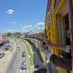Chegando à Jaguariuna