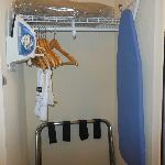lowered closet pole