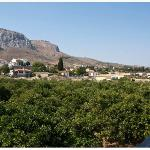 Views of Ancient Corinth from the room